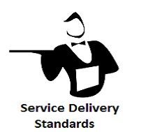 service delivery standards